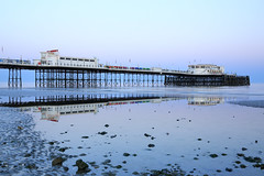 2018_05_06_0211 (EJ Bergin) Tags: sussex westsussex landscape worthing sunset beach sea seaside worthingpier seafront reflection