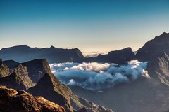 Morning Clouds Floating In (orkomedix) Tags: canon 6d 24105f4l madeira portugal mountains clouds sun mornig warm view shadows light outdoor