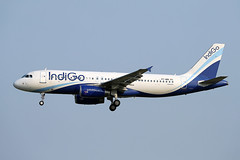 IndiGo Airlines   A320-232   VT-INQ (Globespotter) Tags: bangkoksuvarnabhumi intl indigo airlines a320232 vtinq