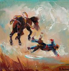 Western (bozhenafuchs) Tags: westernart western wildwest cowboypainting cowboy cowboylife cowgirl cowboyart canvas artist contemporaryart americanwest painting art