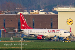 B737-8KN HL8344 ex A6-FDO EASTAR JET (shanairpic) Tags: jetairliner passengerjet b737 boeing737 shannon flydubai eastarjet a6fdo hl8344