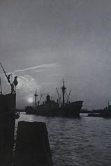 1964 Amsterdam (Steenvoorde Leen - 12.3 ml views) Tags: 1964amsterdam amsterdamsfotojaarboek 1964 amsterdam noordholland zwartwit monochroom monochrome holland netherlands schip schuit boot boat
