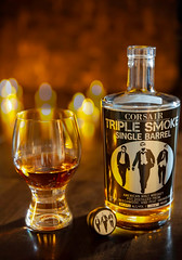 triplesmoke single barrel (PhotoMayo.net) Tags: bourbon singlebarrel triple smoke triplesmoke corsair corsairdistillery foodphotography imbibe cocktail coctails