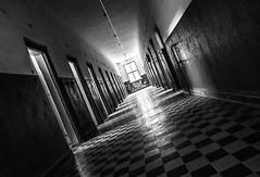 Mauthausen Bunker (Sconsiderato) Tags: mauthausen austria lager jail celle prisoners olocaust bianco black bw biancoenero blackwhite nero story storia