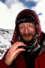 Tom having ice dripping beard (Masa Sakano) Tags: activity cairngorms coireantsneachda highland person place scotland climber climbing winterclimbing
