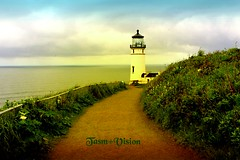 LightHouse (tasmvision) Tags: lighthouse washington art tasmvision light cape disappointment graphicdesign ocean signs found