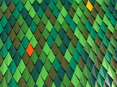 Escamas (markel 2007) Tags: escamas fachada verde naranja amarillo solitario bilbao bilbo bizkaia vizcaya euskal herria pais vasco
