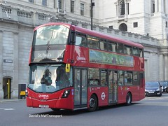Arriva London, HV240 [LK66GCU] - Bank, London (03/06/18) (David's NWTransport) Tags: arrivalondon arriva lk66gcu wrightgemini wrightbus volvob5lh volvohybrid volvo hybrid