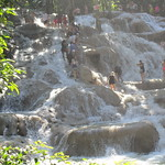 Jamaica -  Ocho Rios: Climbing the Dunn's river waterfalls is a wet pleasure thumbnail