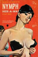Clover Readers 103 - Matt Brady - Nymph Hide-a-Way (swallace99) Tags: cloverreader vintage 60s sleaze paperback