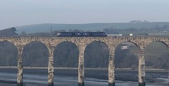 Scotrail 43175/43127 (25/02/2019) (CYule Buses) Tags: scotrail hst eastcoastmainline highspeedtrain class43 royalborderbridge 43127 43175