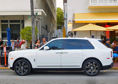 Rolls Royce Cullinan SUV (Infinity & Beyond Photography: Kev Cook) Tags: rolls royce cullinan suv southbeach miami exotic cars supercars