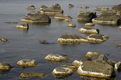 Korea:  Ulleungdo Shoals - Photo #2 (Doug Craig Photography) Tags: asia korea ulleungdo island rocks landscape waterscape ocean travel stock nikon d7000 journalism photojournalism dougcraigphotography nature