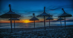 sonnenschirme (Heinertowner) Tags: mallorca spanien espana spain balearen insel strand meer mittelmeer sonne sand beach plage plaja de palma
