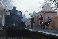 'Auto Train' (Andrew@OxfordPart2) Tags: auto train great western railway didcot centre branch line 1466 natural light reenactors 1960s timeline events