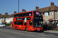 Abellio London 2554 (YX17NVA) on Route 427 (hassaanhc) Tags: abellio abelliolondon abelliogroup alexander dennis adl enviro enviro400 e400 e400mmc enviro400mmc e400hybrid enviro400hybrid