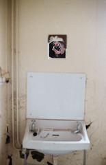 Moi (Howie Mudge LRPS BPE1*) Tags: nikon nikonf80 kodakcolorplus200 mirror selfie me myself i moi wall sink room tywyn army camp abandoned analog analogphotography film 35mm 35mmfilm 35mmfilmphotography plustekopticfilm8200i