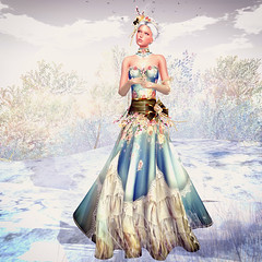 LuceMia - Swank Event (2018 SAFAS AWARD WINNER - Favorite Blogger - MISS ) Tags: swankevent irrisistible creations fantasy unique gown spring dress outfit hairs event sl secondlife mesh fashion blog beauty hud colors models lucemia dust women woman accessories clothes template silk lace victorian romantic marquise collar necklace bangle headpiece maitreya sofia belleza hourglass slink flower