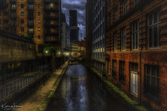 Serial Killer or Urban Myth (Kev Walker ¦ 10 Million Views..Thank You) Tags: architecture building city england manchester panoramic sky town water art background bridge britain buildings business canal castlefield center centre cityscape design downtown dusk europe european great kingdom landmark light metropolitan modern night places quays quayside reflection salford skyline skyscraper square symbol tourism tower travel twilight uk united urban view yellow