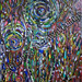 ''Womens Worped Circle'' by Diane A, acrylic, $30.00