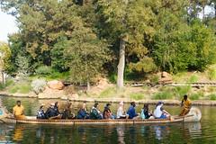 disneyland (dolanh) Tags: anaheim canoe disneyland holidays tomsawyersisland