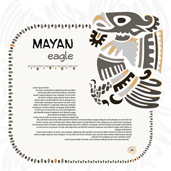Abstract maya and aztec symbol of an eagle (heliga3333) Tags: eagle american ancient animal art aztec culture decoration design emblem icon illustration mayan mysterious mystic south symbol vector antiquities bird element ethnicity history maya mexican mexico monster native old
