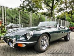 Jaguar E Type Cabriolet, 1974 (linie305) Tags: bochum ruhrgebiet ruhrpott ruhrarea liermann classic day liermannclassicday2018 auto automobil meeting show carshow oldtimer classiccar oldcar youngtimer british jaguar etype convertible cabrio cabriolet