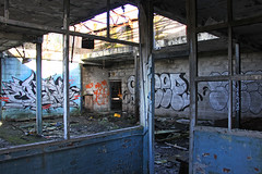 Office accomodation (Capt' Gorgeous) Tags: wernworks neath britonferry wales industry urbex derelict factory