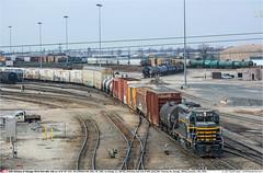 BRC236GB_ChicagoIL_110119-02 (Catcliffe Demon) Tags: railways railroading usa illinois brc humpyard beltrailwayofchicago emd diesellocomotive gp23eco gp40 wp westernpacific usatrip12jan2019