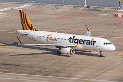 Tigerair Taiwan A320-232(WL) B-50018 001 (A.S. Kevin N.V.M.M. Chung) Tags: aviation aircraft aeroplane airport airlines airbus plane spotting macauinternationalairport mfm taxiway a320