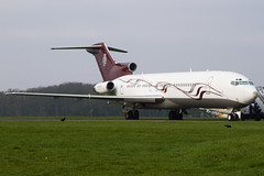 M-FTOH || Private 727-200 || Kemble Airfield (MichaelLeung213) Tags: kemble boeing 727200 private cotswold airport airfield