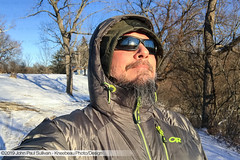 Self Portrait on a cold winter day at the end of the lane (John P Sullivan) Tags: athens lane winter woods 45701 icy kneebeau ohio selfportrait countrylane cold self me johnpaulsullivan phillipslane iphone7plus johnpsullivan selfportraits appleiphone snowy snow trees winterweather iphone unitedstates usa
