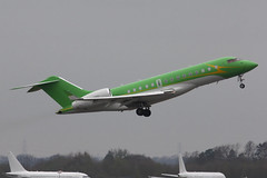 Global Express XRS (nickchalloner) Tags: p4gms bombardier global express xrs london stansted airport egss stn