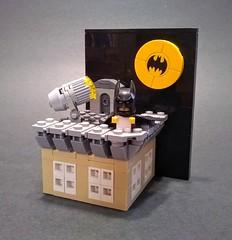 Tiny Titans: Batman (Jonathan_S.) Tags: lego legomoc legobaby legobabybatman legobatbaby legotinytitans legotinytitansbatman legobatmanmoc legobabymoc tiny titans batman