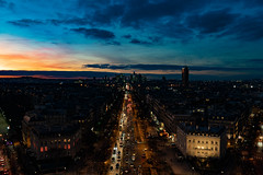 Paris (and_raw) Tags: paris night photography city arc de triomphe skyporn sunset sony alpha 7iii france road building