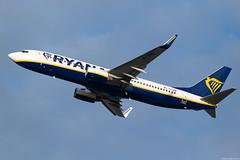 EI-DPN (Andras Regos) Tags: aviation aircraft plane fly airport bud lhbp spotter spotting takeoff ryanair boeing 737 738
