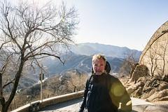La grande muraille de Chine (louis.labbez) Tags: chine china labbez asie asia muraille badaling wall montagne mountain hiver winter landscape paysage arbre tree