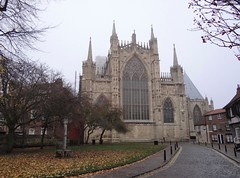 York Minster, the east end v.2 (heffelumpen9) Tags: yorkminster york england cathedral gothicarchitecture church gothiccathedral perpendiculargothic northyorkshire