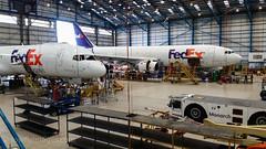 MON_MANH (paulmassey680) Tags: fedex mael monarch engineering mro manh hangar manchester 757f a300f