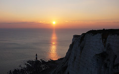 DSC08305 (simonbalk523) Tags: seascape lighthouse beachy head sunset holiday cliffs sony photography country eastbourne sussex sun
