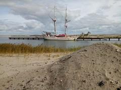 Marker Wadden haven zeilschip Bounty @Oxalex groot