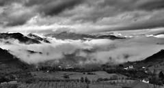 Misty Mountains (superhic) Tags: mist fog mountain valley bosnia bosna nature landscape clouds