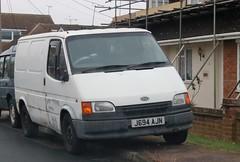 J694 AJN (Nivek.Old.Gold) Tags: 1992 ford transit 150 d swb van 2496cc