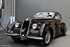 Alfa Romeo 6C 2300 B Berlinetta 1937 (tautaudu02) Tags: alfa romeo 6c 2300 b berlinetta vente bonhams 2016 paris grand palais auto moto cars coches voitures automobile