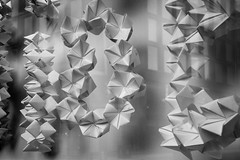 paper chains (80/365) (werewegian) Tags: paper chain window art savoy centre glasgow bw werewegian mar19 365the2019edition 3652019 day80365 21mar19