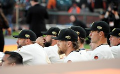 2014 #WorldSerieschampionship #ringceremony at #AtTPark on Saturday, April 18, 2015, in #SanFrancisco (Σταύρος) Tags: majorleaguechampions mlb majorleaguebaseball majorleague sanfranciscogiants giants sfgiants baseball gigantes losgigantes attpark ballpark baseballstadium baseballteam baseballgame baseballfield baseballplayers sanfrancisco southbeach nikon nikond700 d700 greatseats expensiveseats greatview missionbay soma southofmarket chinabasin estadio stadium pastime giantswin worldchampions giantswon fieldclub fieldclubseats wearesf ringceremony kalifornien californië kalifornia καλιφόρνια カリフォルニア州 캘리포니아 주 cali californie california northerncalifornia カリフォルニア 加州 калифорния แคลิฟอร์เนีย norcal كاليفورنيا
