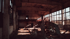 IMG_20190308_160541 (Âme inconsolable) Tags: abandoned rust destroyed damaged factory abandonedfactory industrial landscape spring broken sun