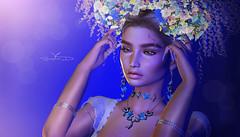 # ♥967 ~ sᴘʀɪɴɢ ɪɴ ᴛʜᴇ ʜᴇᴀᴅ (sophieso.demonia) Tags: vanity hair spring flair 2 lelutka collabor88 glam affair ersch kokoro poses