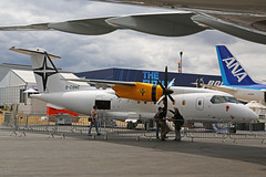 D-CSNC Dornier 328-110 Dornier Support Services Farnborough Air Show 17th July 2018 (michael_hibbins) Tags: dcsnc dornier 328110 support services farnborough air show 17th july 2018 d german germany europe european aeroplane aviation aircraft aerospace airplane aero airshow airport airports airliner regional civil commercial passanger passenger prop props propeller propellers turbo multiengined