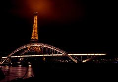 Madame Paris (laurent.triboulois) Tags: paris sky monuments tour eiffel pont bridge